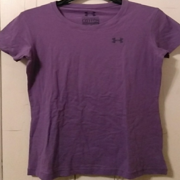 0aad65a3 Under Armour Tops | Charged Cotton Semifitted Tee Xs | Poshmark